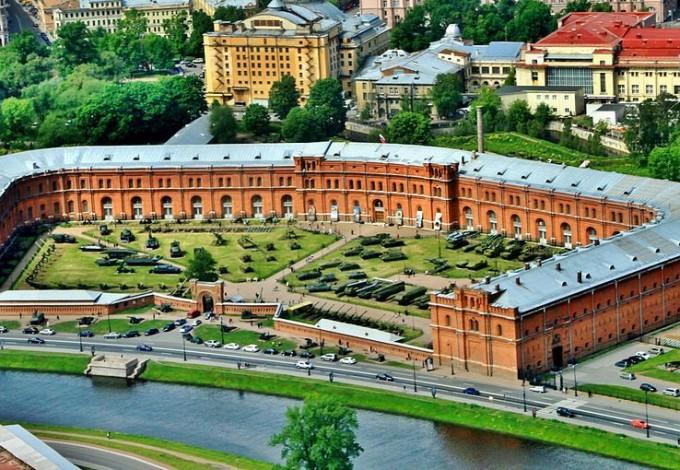 Артиллерийский музей и Александровский парк соединят пешеходным мостом