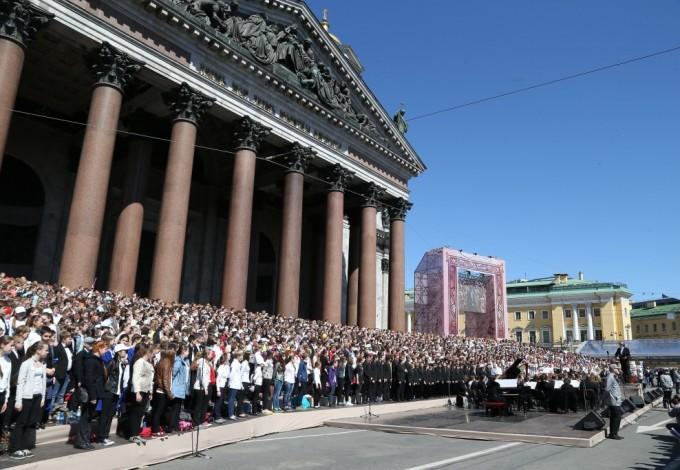 События фестиваля «Музыка наНеве» развернулись начетырех площадках города