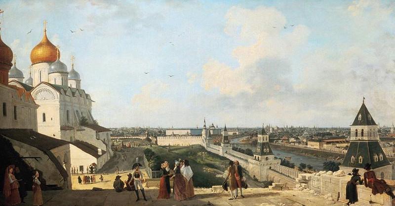 ВМихайловском замке покажут столицуРФ времен Екатерины II— Выставка Жерара Делабарта