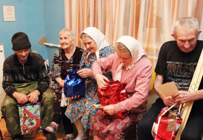 Подарки для домов престарелых в петербурге уход за больными при нервных и психических заболеваниях